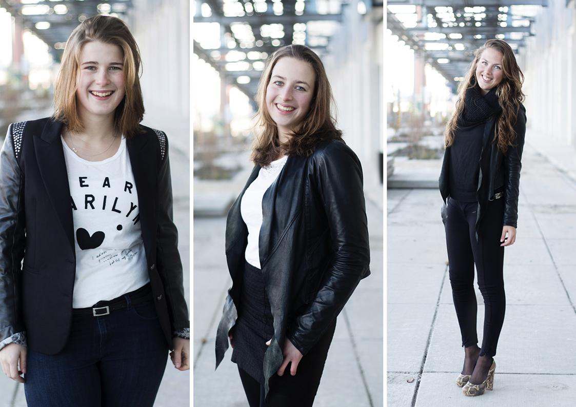 Fotoshoot zusjes van Roekel 2