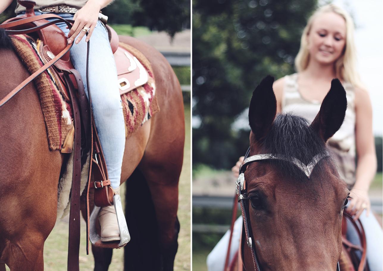 Fotoshoot vriendinnen met paard 1