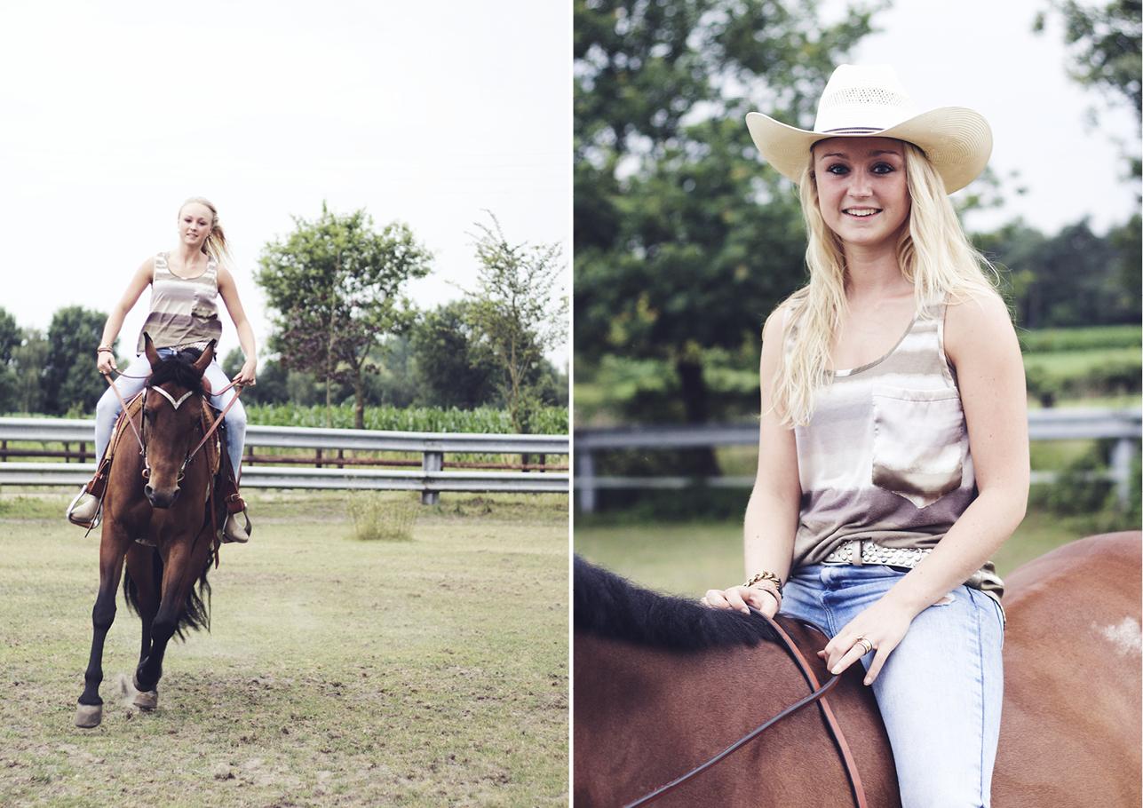 Fotoshoot vriendinnen met paard 2