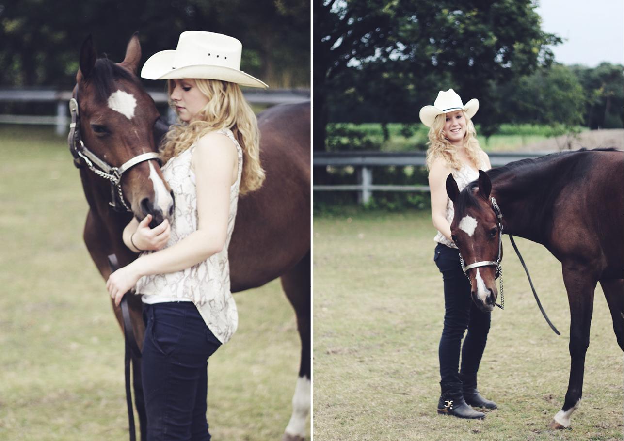 Fotoshoot vriendinnen met paard 3