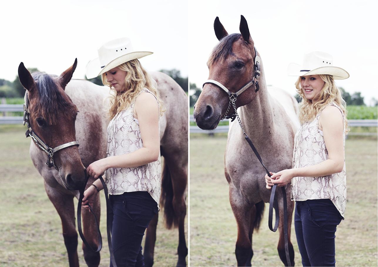 Fotoshoot vriendinnen met paard 6