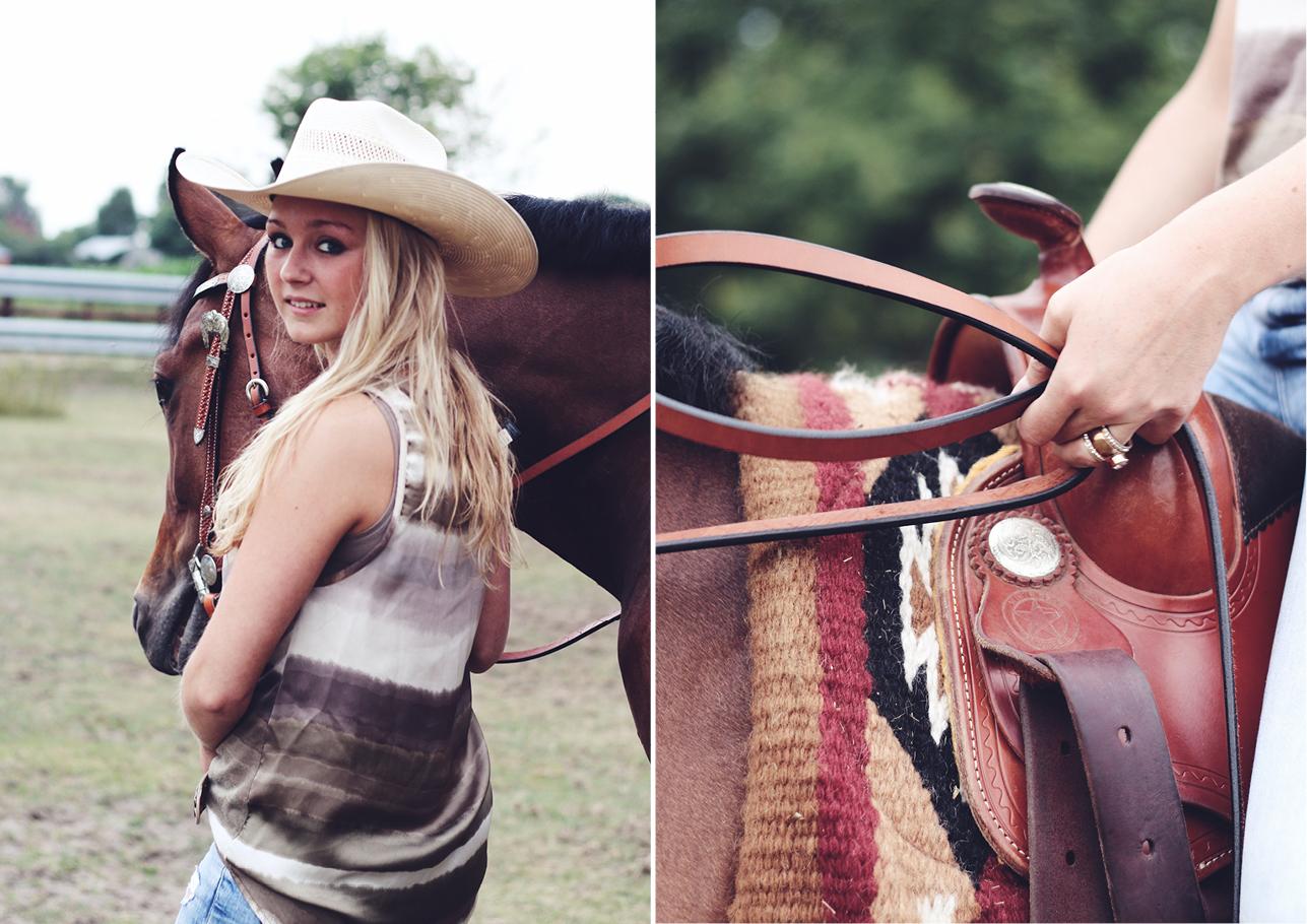Fotoshoot vriendinnen met paard 7