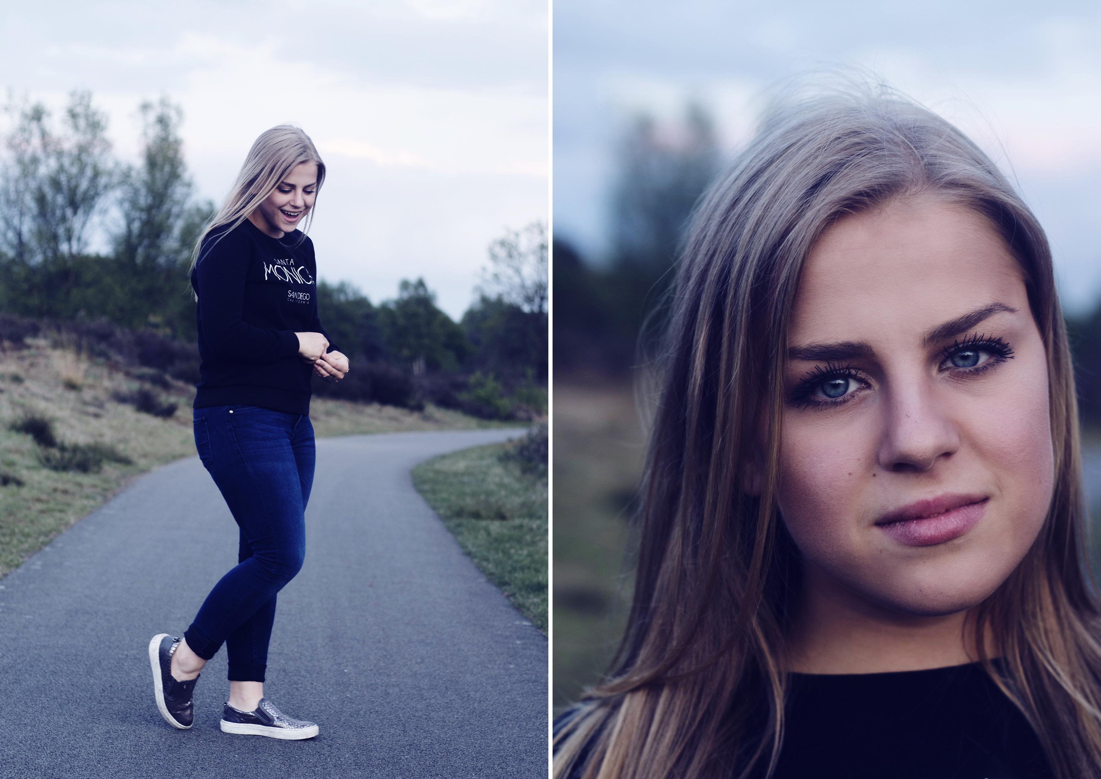 Zusjes fotoshoot Malpie 3